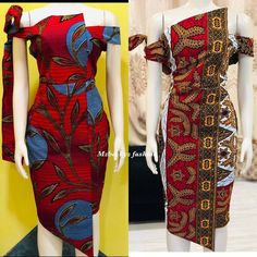 Creative ankara gown styles for Beautiful ladies in 2020 Short African Dresses, African Inspired Fashion, Latest African Fashion Dresses, African Print Fashion, Africa Fashion, Ankara Dress Designs, Ankara Gown Styles, Ankara Stil, Style Africain