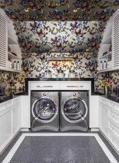 San Francisco Decorator Showcase 2015 // Laundry Room // Evars   Anderson