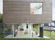 Mölle by the Sea  / Elding Oscarson #Architects - beautiful #wood paneling