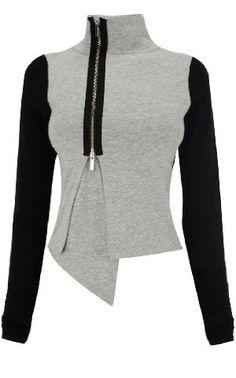 Farb-und Stilberatung mit www.farben-reich.com - Karen Millen Jersey Knit Jacket  great with sweats for a trendy chill out look