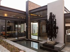 House Boz: Unique contemporary mansion design in South Africa for a lavish lifestyle - by Nico van der Meulen Architects