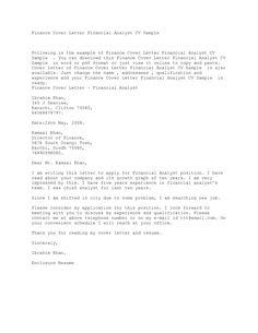 Cover Letter Example for Customer Service Representative | Cover ...