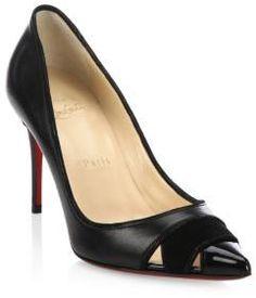 Christian Louboutin Bibio Patent Leather Stilettos