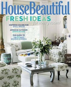 House Beautiful Usa Issue 04 2017 Studio Apartment Homes