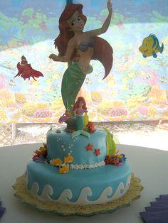 The Little Mermaid Theme - Cake