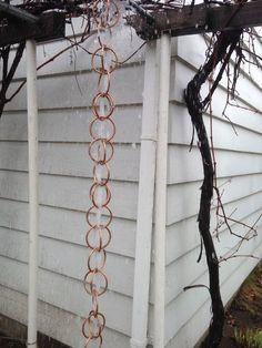 DIY Copper Rain Chain