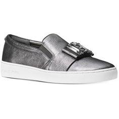 Michael Michael Kors Michelle Slip-On Embellished Sneakers