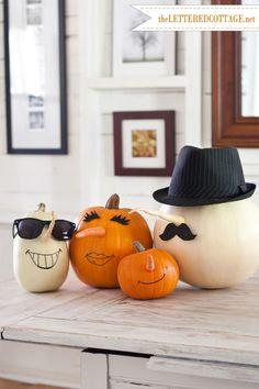 DIY Halloween Pumpkins   The Lettered Cottage