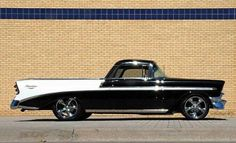 Custom Chevy Wagon into El Camino! Ford Classic Cars, Classic Chevy Trucks, Custom Trucks, Custom Cars, Cool Trucks, Cool Cars, Pick Up, Automobile, Volkswagen
