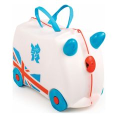Update – Trunki sports kids' luggage in Olympic colours
