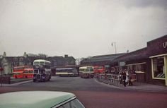 United Bus Station Late Probably Happy Valley, Summer Memories, Bus Station, Old Pictures, The Past, England, Street View, History, Buses