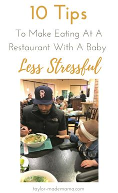 Tips To Make Eating At A Restaurant With A Baby Less Stressful
