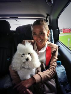 """Twitter- Jelena Ristic - """"On our way to Wimbledon...Pierre is with us, too :) """" - 16 June 2013"""