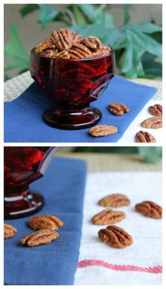Instead of opening a jar of regular peanuts at your next party, try this recipe for Cinnamon Spiced Pecans. | Culinary Hill