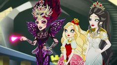 The Evil Queen, Apple White, Snow White Ever After High, Monster High, The Dark Knight Trilogy, Hello Kitty, Raven Queen, Dragon Games, Girls Characters, Daddys Girl, My Little Pony Friendship