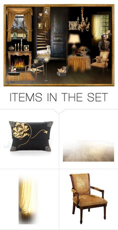 """A casa dos espiritos"" by dehti ❤ liked on Polyvore featuring art"