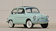 1960 Fiat 600 Sunroof Sedan - 12