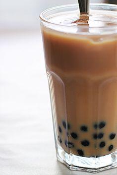 Homemade Bubble Tea....mmm I love Bubble Tea!