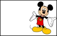 Mickey Stroller Sign