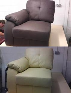 If your old leather furniture is looking a bit dated, no longer fits your colour scheme, or you just fancy a change, why not hold off buying a new one and just change its colour!?  All you need is a Leather Colourant kit in the correct size for the job you are doing and you can give a new lease of life to your old furniture!