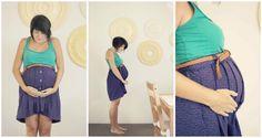 styling the baby bump.     via hello hue