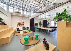 Three Drunk Monkeys Office, by Akin Creative