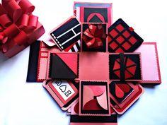 Làm hộp quà tình yêu thần kì - love box - hộp quà handmade - NGOC VANG