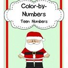 Instant Center Activity!  Can double as a Math Center to practice identifying teen numbers or an Art Center.This product included 10 holiday-them...
