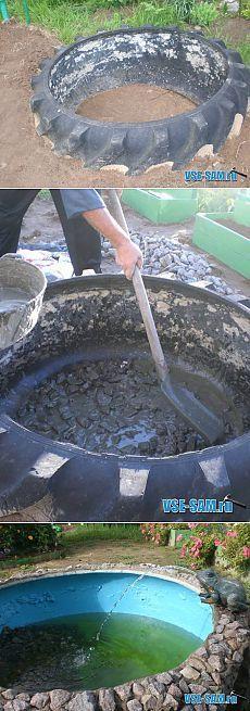 Дачный фонтан » VSE-SAM.ru - Сделай сам своими руками поделки, самоделки