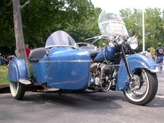 Classic Indian with Sidecar