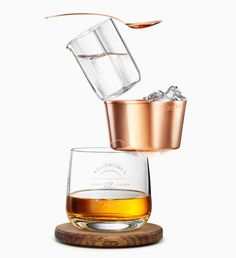 Ballance Drinking Set for Ballantine's Whisky - Front