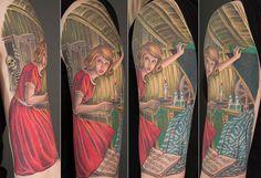 So cool! Nancy Drew tattoo