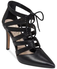 Jessica Simpson Caeli Lace-Up Shooties - Booties - Shoes - Macy's