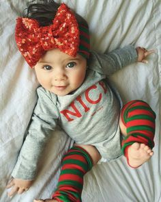 Christmas baby outfit :-)