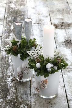 Mettez-vous au bricolage et créez vous-même une de ces décorations d'automne et d'hiver ! - DIY Idees Creatives
