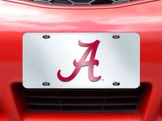 "MY TEAM MATS - University of Alabama License Plate-Inlaid  6""x12"", $19.99 (http://www.myteammats.com/university-of-alabama-license-plate-inlaid-6x12/)"