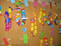 Mille idee al nido: A carneval lo scherzo val!  Stringing