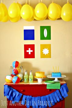 Just Another Day in Paradise: Beach Birthday Party