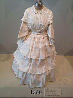1860 fashion silhouette