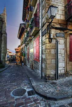 Hondarribia, Basque Country - Spain by GustavoCba Bilbao, Places To Travel, Places To See, Places Around The World, Around The Worlds, Belle Villa, Basque Country, Spain And Portugal, Spain Travel