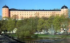 Uppsala Castle, Uppsala, Sweden.