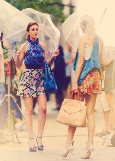 Blair Waldorf and Serena Vanderwoodsen gossip-girl-fashion-stars