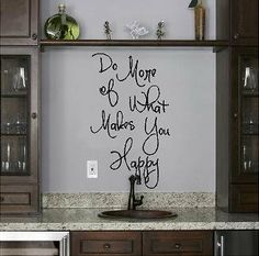 Do More of What Makes You Happy (M) wall saying vinyl lettering home decor decal stickers quotes Wall Sayings Vinyl Lettering,http://www.amazon.com/dp/B009SPZAA8/ref=cm_sw_r_pi_dp_vn4Wsb0JWDZHZHA8