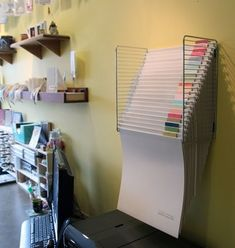 Craft Room Design, Craft Room Decor, Cricut Craft Room, Craft Room Storage, Storage Ideas, Craft Space, Diy Storage Hacks, Organizing Sewing Rooms, Diy Vinyl Storage