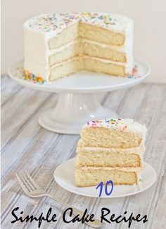 Top 10 Simple Cake Recipes