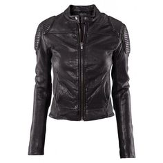 The Girl With the Dragon Tattoo leather jacket found on Polyvore