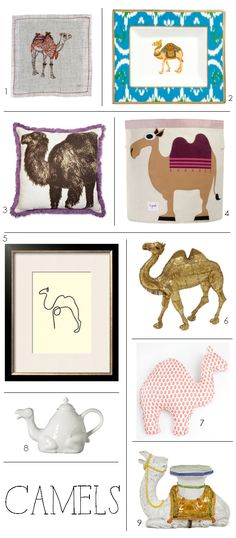 Decorating Trend :: Camels  3 Sprouts camel bin @Cristin Priest | Simplified Bee.com