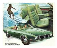 1973 Mustang vert.
