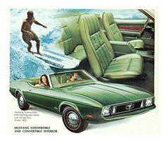 1973 Mustang ad
