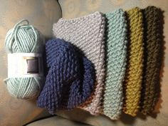 """One Skein Cowl Scarves! Using Bernat 'Roving' yarn & 13"""" circular needles, cast on 49 sts & knit seed/moss stitch until you almost run out of yarn. Leave enough to cast off, sew in the ends of the yarn to finish. Super easy :)"""